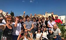 Un grupo de mayores de Herrera, de Erasmus+ en Malta