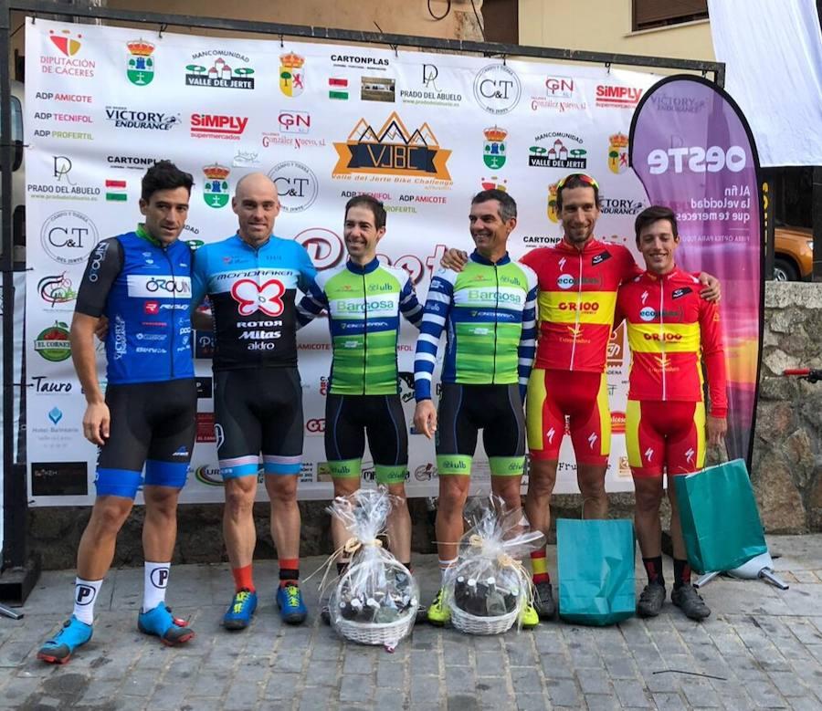 Pedro Romero y Manu Cordero, terceros en la Picota Bike