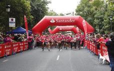 La marcha rosa supera las 4.500 personas en Cáceres