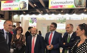 Treinta empresas extremeñas participan en Madrid en la feria Fruit Attraction