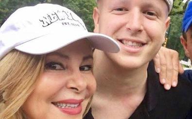 Ana Obregón tranquiliza sobre el estado de su hijo Aless Lequio