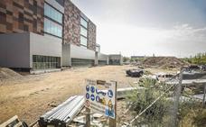Las obras del nuevo Palacio de Justicia de Badajoz cumplen su segundo mes sin actividad