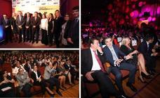 Álvaro Martín, Ana Peláez y Pablo Guerrero reciben los premios Extremeños de HOY