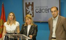 Las cuentas municipales de Cáceres incluyen subida de sueldos, bajada del IBI y venta de suelo