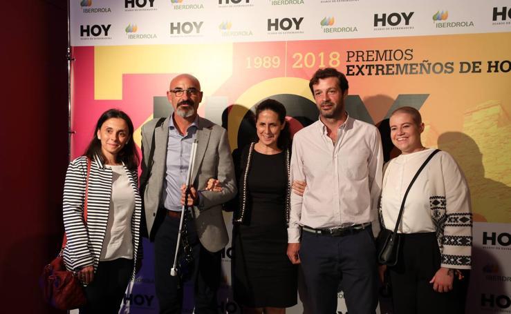 Photocall en los Extremeños de HOY 2018 (II)