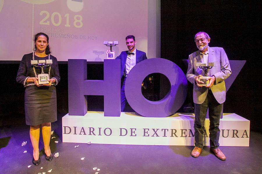 Álvaro Martín, Ana Peláez y Pablo Guerrero, Extremeños de HOY 2018