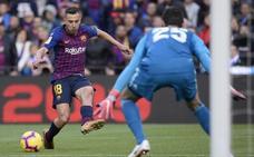 Jordi Alba, una pesadilla para el Madrid