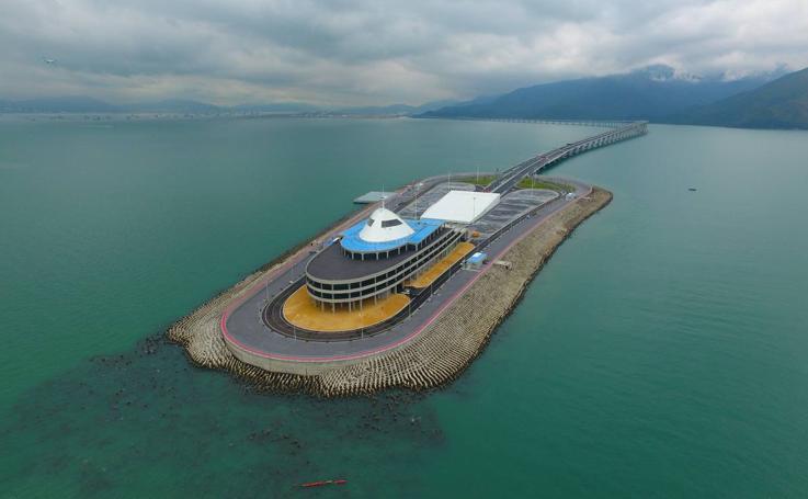 Puente marítimo Hong Kong-Zhuai-Macao