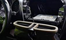 Detienen a un vecino de Azuaga con 350 gramos de cocaína ocultos en el coche