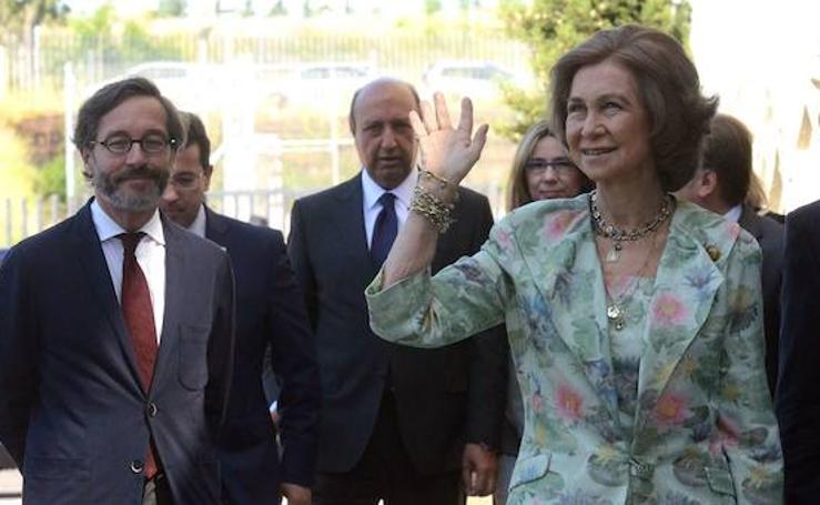 Visitas de la Reina Sofía a Extremadura