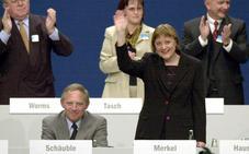 Schäuble se conjura para conseguir un relevo de Merkel a su medida