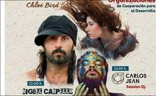 Chloé Bird, 'El Bicho' y Carlos Jean actúan este sábado en Mérida