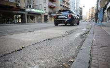 Las obras de la red de abastecimiento de agua en Cáceres llevan tres meses paralizadas