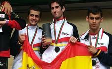 Manuel Gómez, plata en el Campeonato del Mundo de media maratón INAS