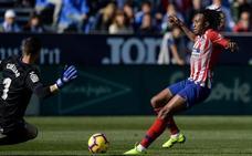 El Atlético se seca