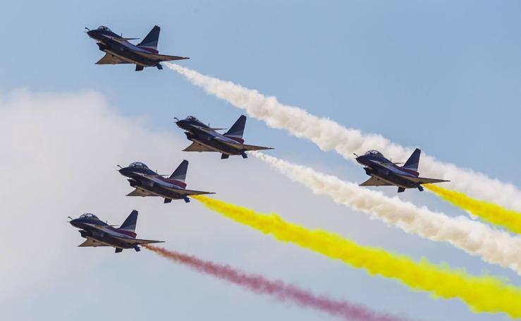 Exposición Internacional Aeronáutica y Aeroespacial en Zhuhai
