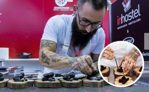 El chef extremeño Alberto Montes presenta 'Dando la brasa' al Certamen de Pinchos de Valladolid