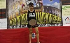 La pacense Blanca Palomo, campeona del mundo en Roma