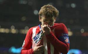 Griezmann: «En noches así me da alegría seguir en el Atlético»
