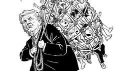 Pia Guerra, el lápiz que azota a Trump