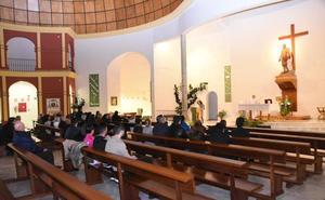 Misa en el Cerro de Reyes por las 22 víctimas