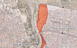 El Ayuntamiento de Badajoz pide a la Junta costear juntos 13,5 millones para urbanizar la zona de la riada