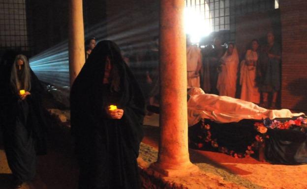 El MNAR recrea el sábado la muerte y supersticiones de los romanos