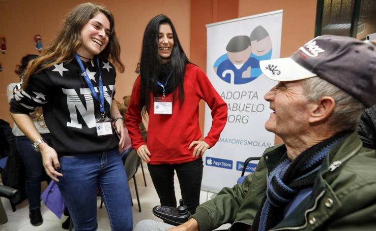 Programa intergeneracional 'Adopta un Abuelo'