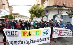 Empleados públicos piden en Mérida la equiparación salarial con otras comunidades