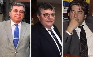 Tres letrados pugnan por ser el nuevo decano del Colegio de Abogados de Cáceres