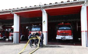 La Diputación reformará el parque de bomberos de Mérida para que sea centro formativo