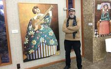 El pintor Vito Cano expone hasta el día 18