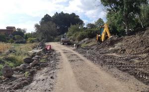 Mejoran una de las vías de evacuación de Madrigal de la Vera