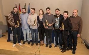 Los cuatro ganadores de la XV Feria de la Tapa de Plasencia