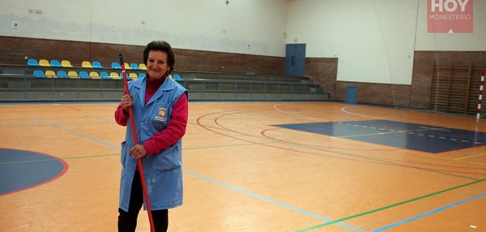 Antonia, trabajadora municipal, es la agraciada de la Lotería Nacional en Monesterio