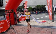 Jesús A. Núñez y Mercedes Pila ganan la Elvas-Badajoz