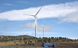 El parque eólico del Merengue toma forma