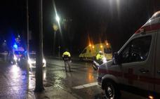 Una joven de 16 años resulta herida tras ser atropellada en la carretera Circunvalación de Badajoz