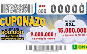 El Cuponazo de la ONCE reparte 125.000 euros en Coria