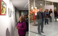 Una exposición colectiva reúne en Navalmoral de la Mata obras de 25 artistas locales