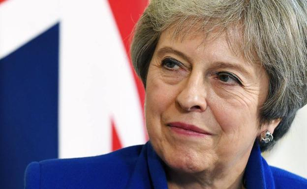 La primera ministrade Reino Unido, Theresa May.