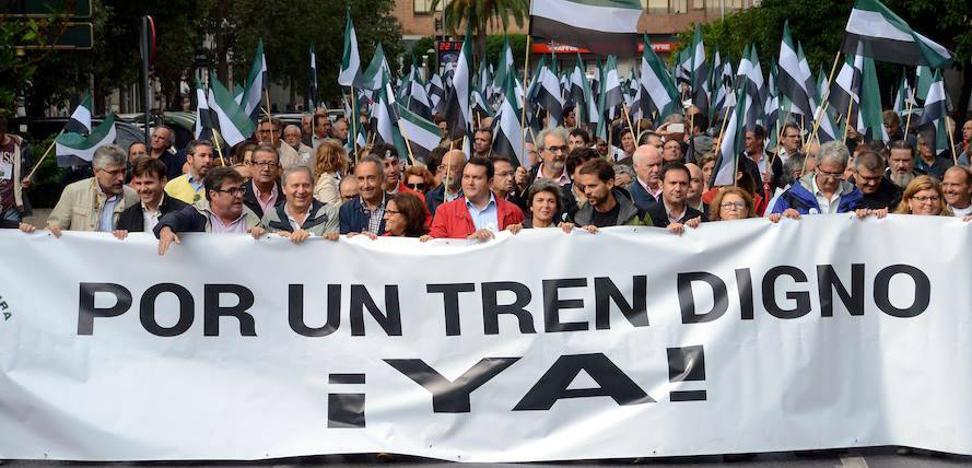 Esperan 10.000 personas en la mayor manifestación de los últimos 15 años en Cáceres