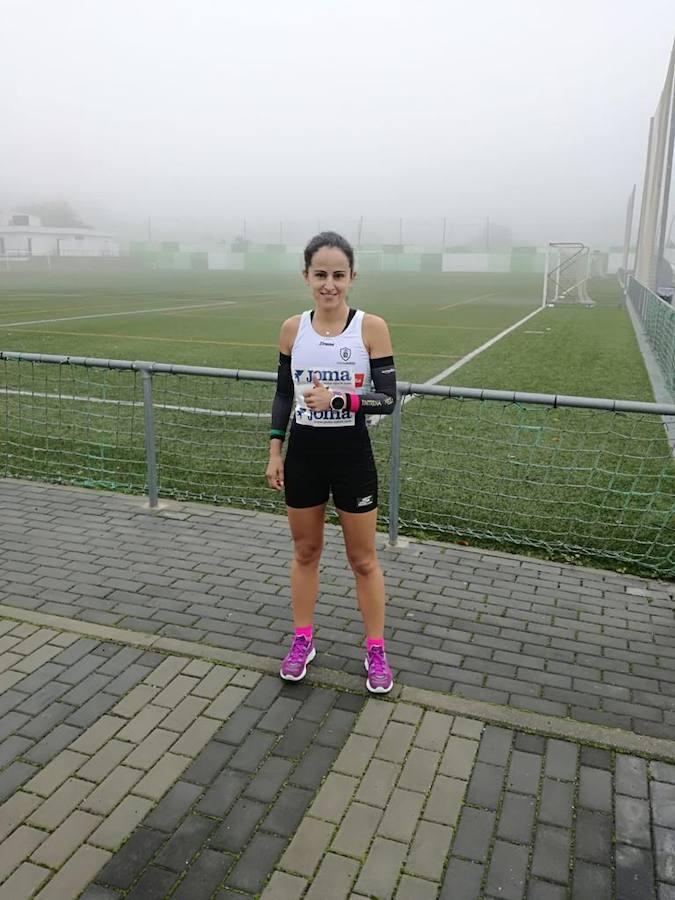 Mamen Ledesma gana la Media Maratón de Sierra Morena