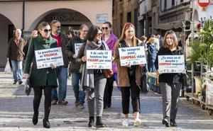 Concentración en Plasencia contra la trata y la prostitución