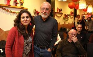 Remigio Cordero acompaña a Irene de Miguel en las primarias de Podemos a la Asamblea