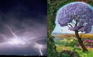 Electricidad atmosférica que afecta a cuerpo y mente