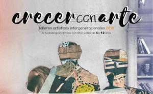 Ocho municipios extremeños participan en la octava edición de 'Crecer con Arte'