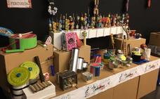 Talleres y conciertos con instrumentos reciclados en Almendralejo