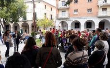 Varios colectivos se unen contra la violencia machista en Don Benito