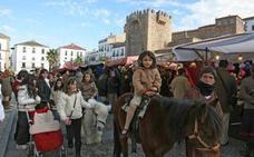 Comienza el Mercado Medieval de las Tres Culturas en Cáceres